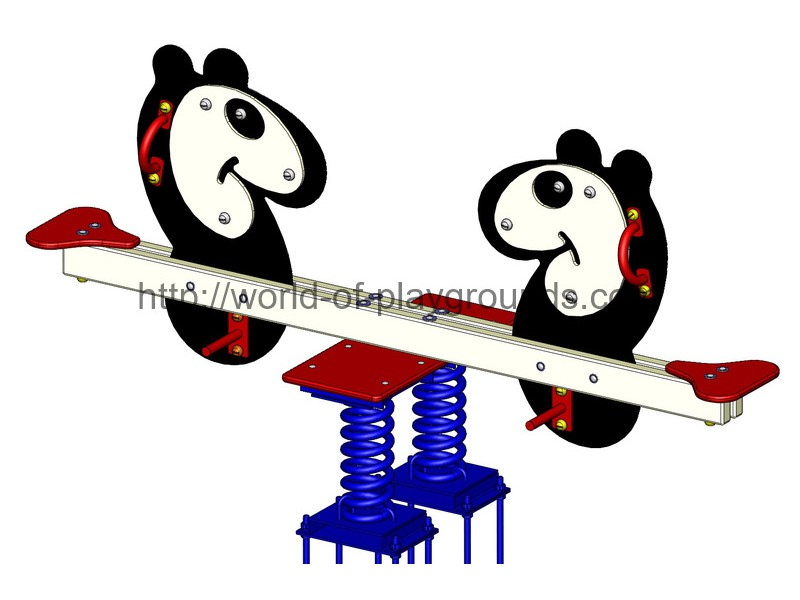 Seesaw with springs wp509