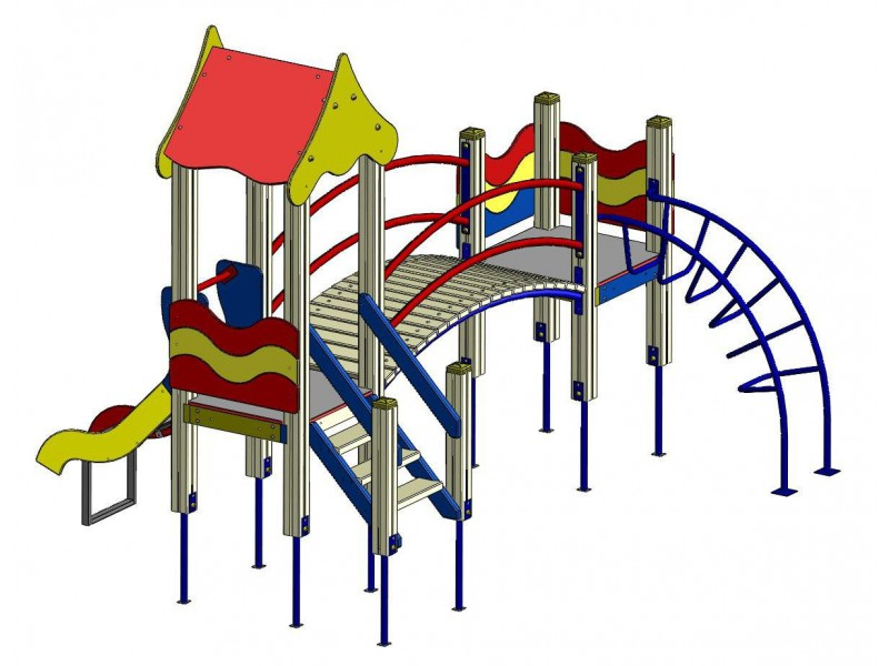 Play structure (Slide 0,7 м) wp903