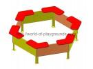 Hexagonal sandbox wp409