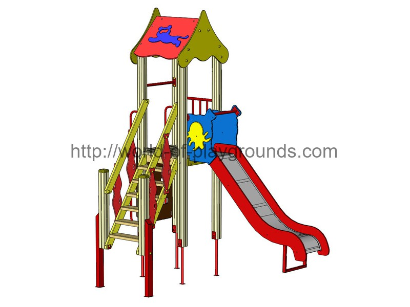 Play structure (Slide 1,2 м) wp912
