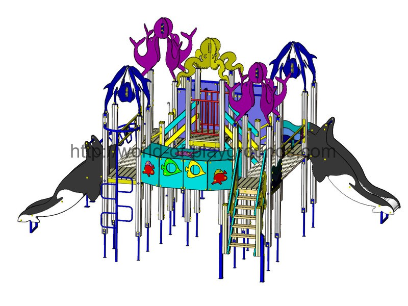 Play structure (Slide 1,2 м) wp915