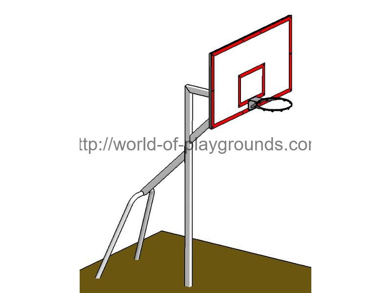 Щит баскетбольный 180х105, стандарт FIBA wp1407