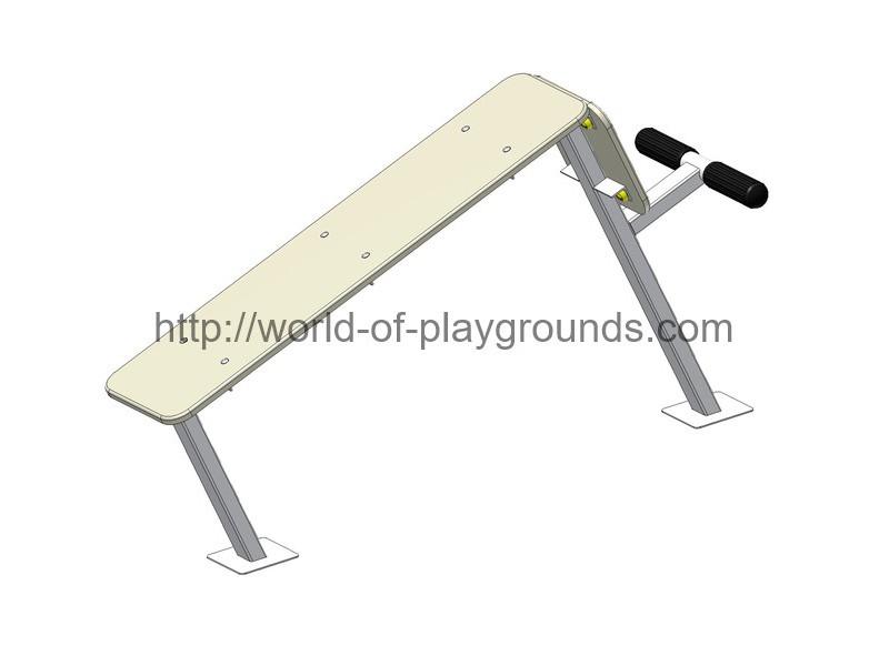 Abdominal crunch bench wp1327