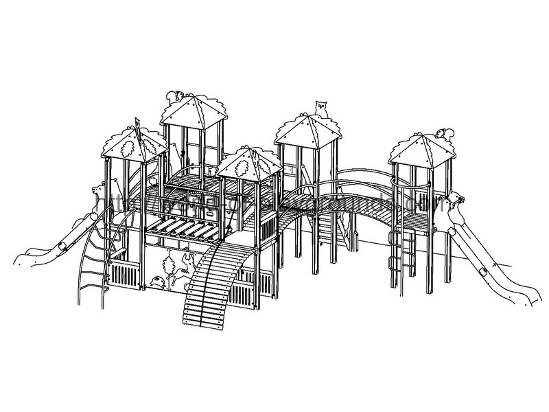 Play structure wp934