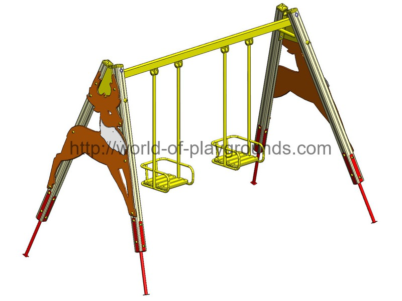 Swing for two seats wp105