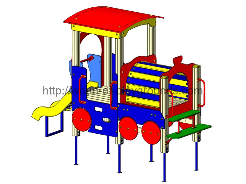Locomotive (0,7 m slide) wp802