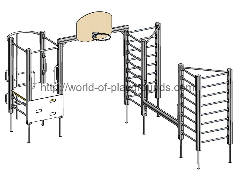 Gymnastic structure wp1006