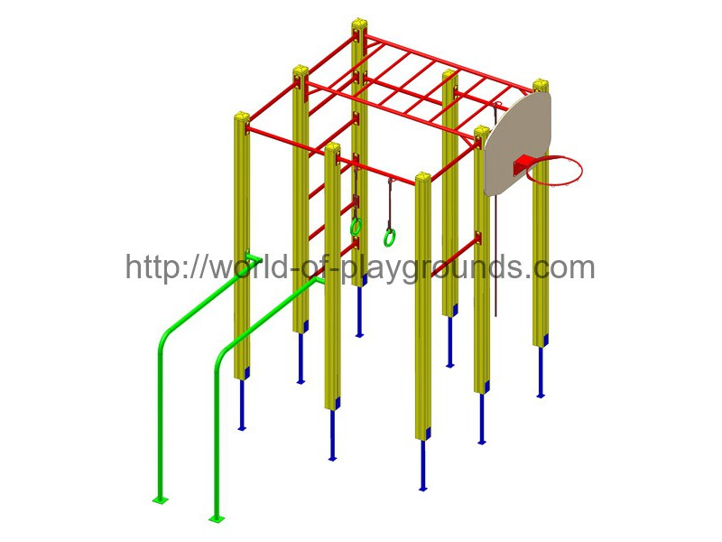 Gymnastic structure wp1010