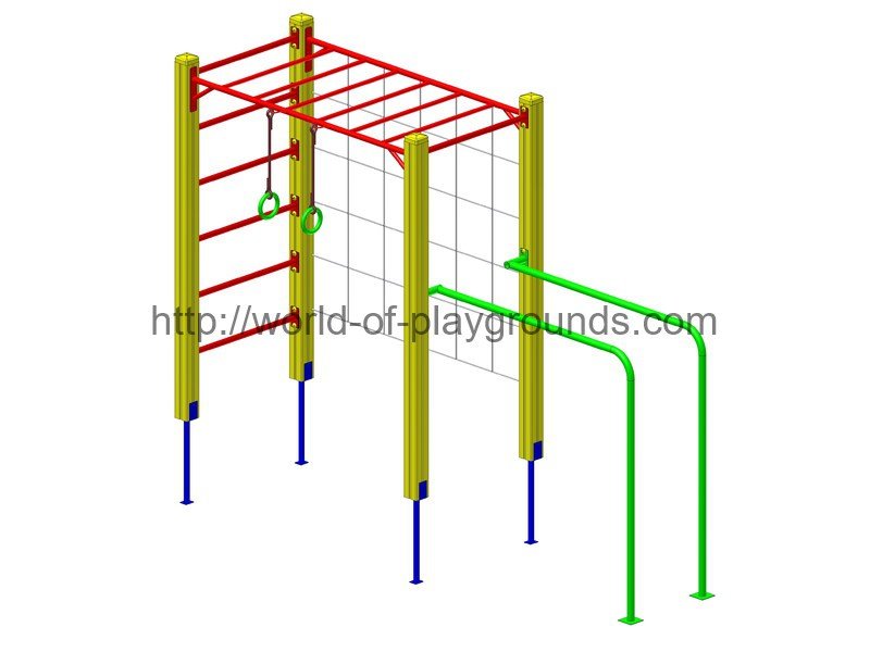 Gymnastic structure wp1011