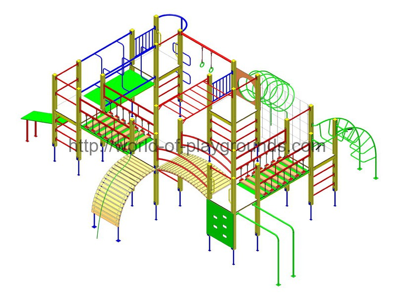 Gymnastic structure wp1023