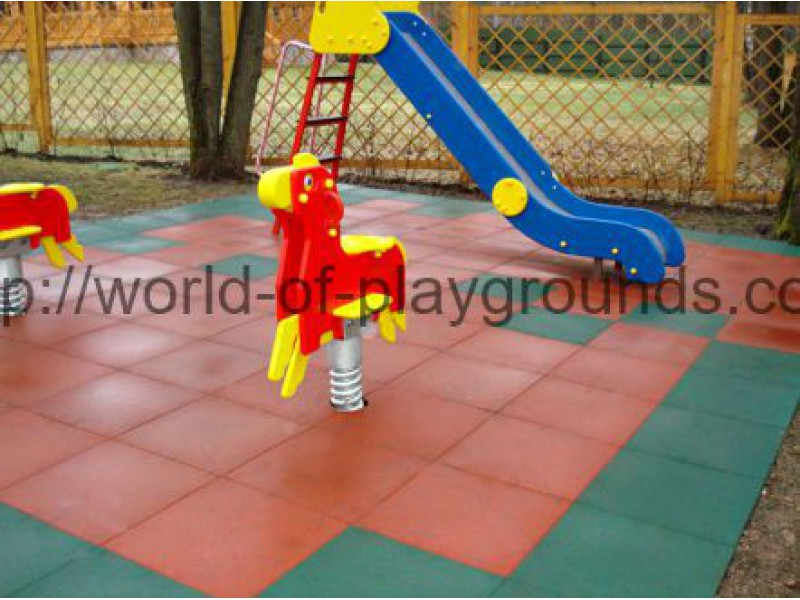 Rubber tile 40 mm wp1505
