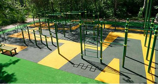 Health benefits of outdoor gymnastics for kids and adults