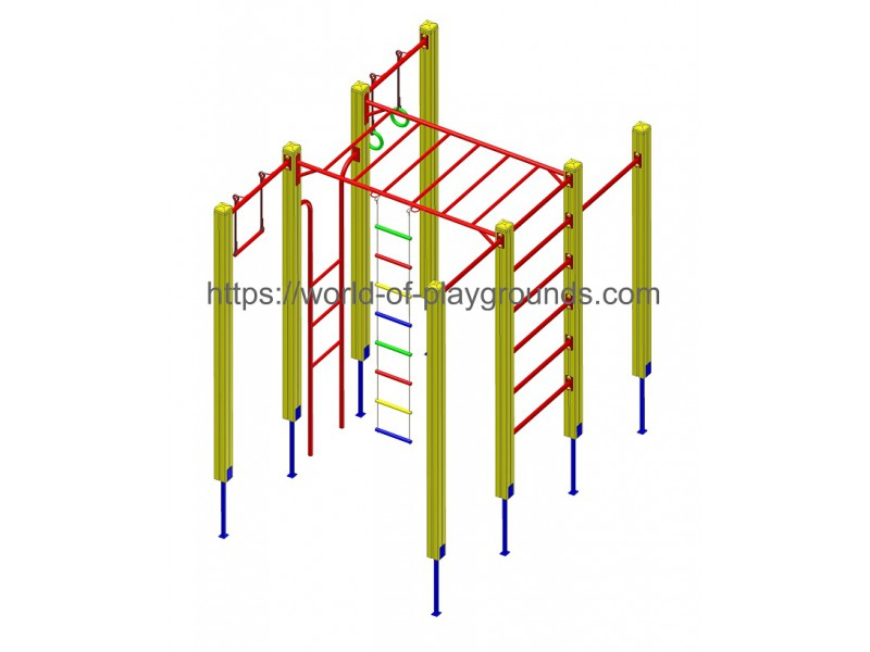 Gymnastic structure wp1018