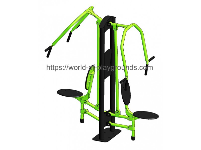 Seated chest press wp1301