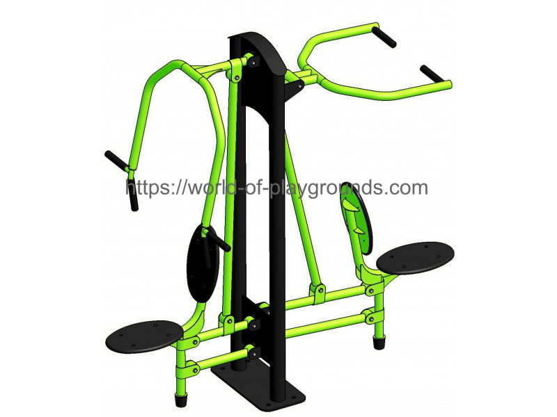 Chest press + Pulldown wp1322