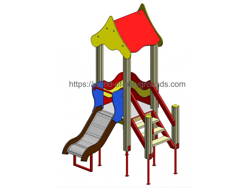 Play structure (Slide 0,7 м) wp902