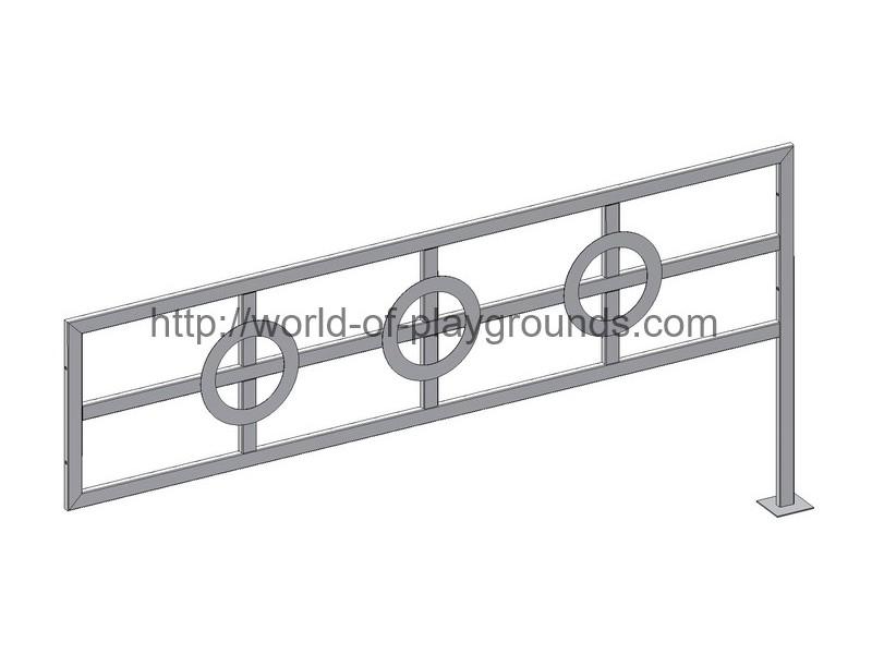 Fence (tube 40*20) wp1206