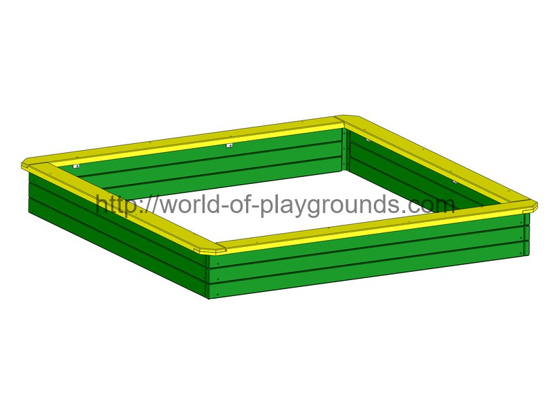 Sandbox big (wood) wp401