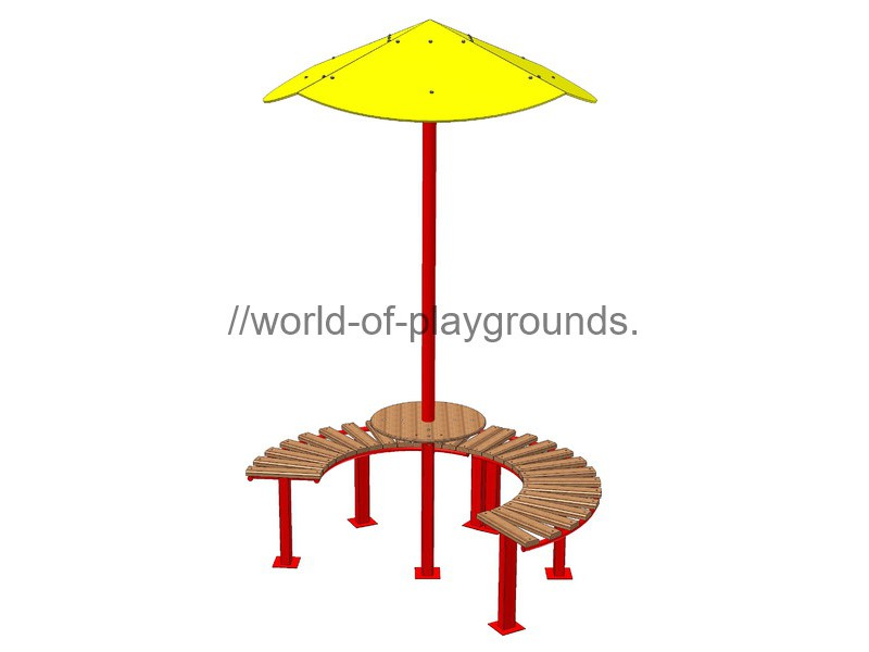 Table with sunshade wp311
