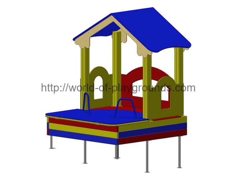 House with sandbox wp417