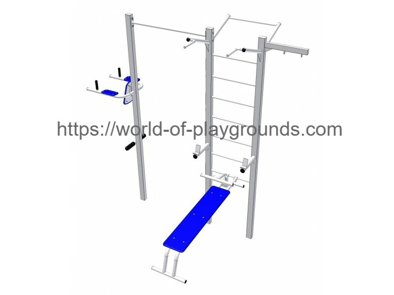 Gymnastic structure wp1027
