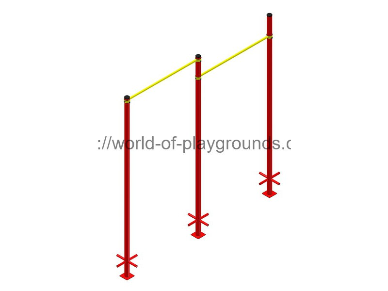 Double pull-up bar wp1510