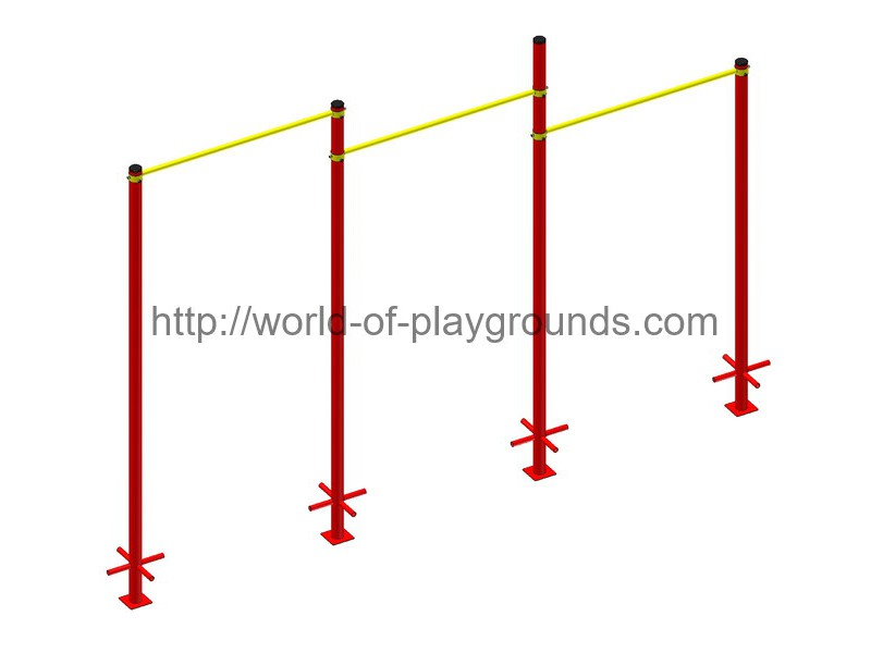 Triple pull-up bar wp1512