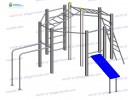 Gymnastic structure wp1004