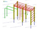 Gymnastic structure wp1014