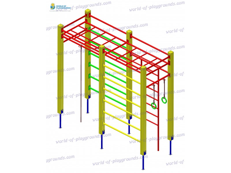 Gymnastic structure wp1017