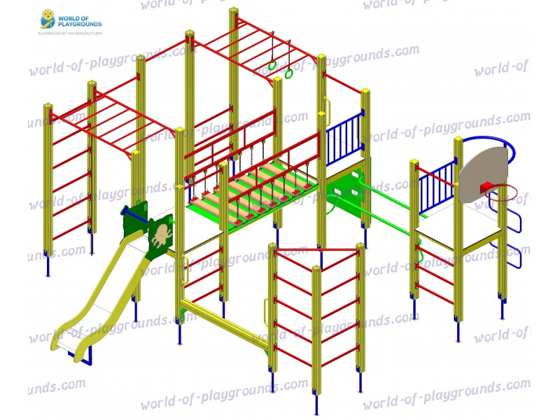 Gymnastic structure wp1022