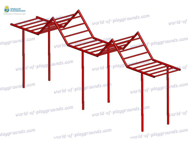 Monkey way zigzag wp1116