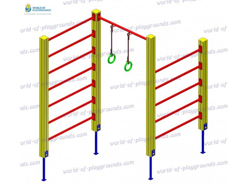 Wall bars wp1126