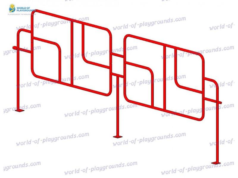 Ограждение (труба Ø42) wp1202