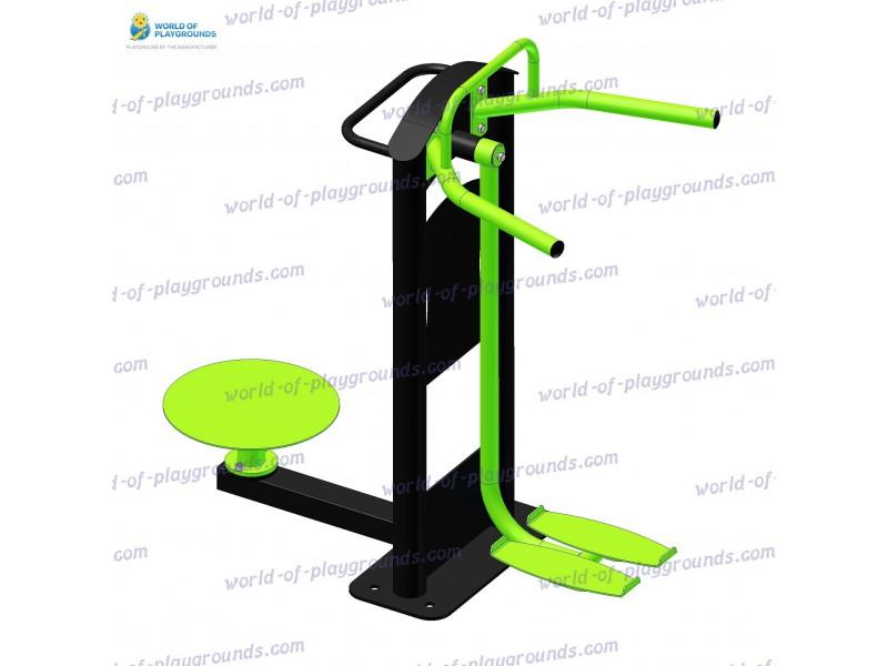 Gluteus trainer + Pendulum trainer + Twister wp1328