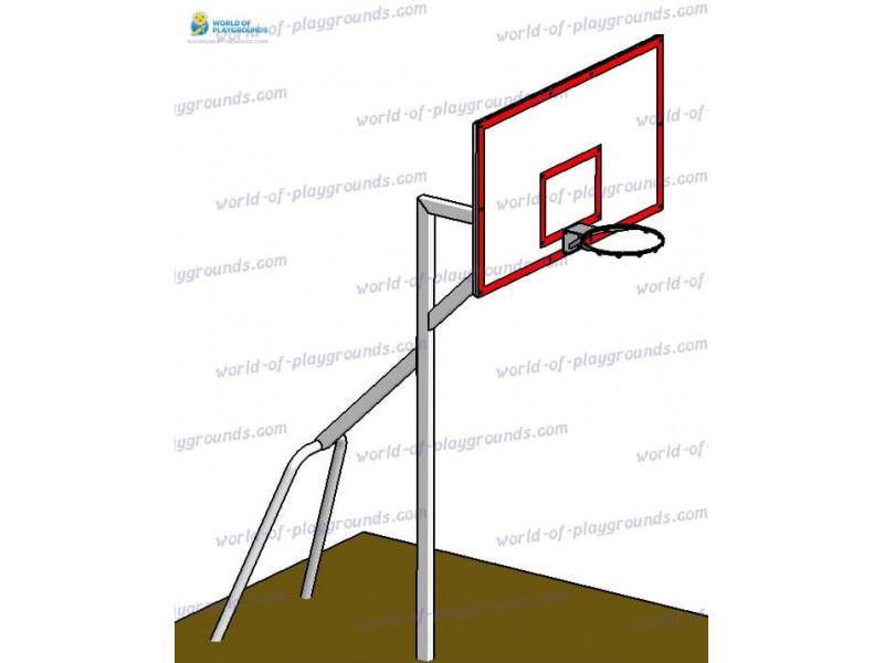 Basketball stand 180х105, FIBA standard wp1407