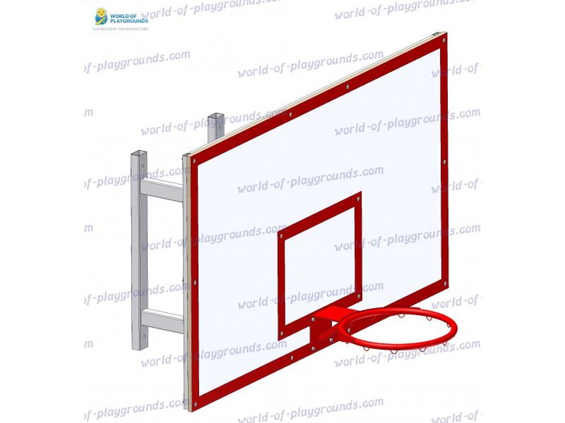 Щит баскетбольный с кольцом, навесной wp1408