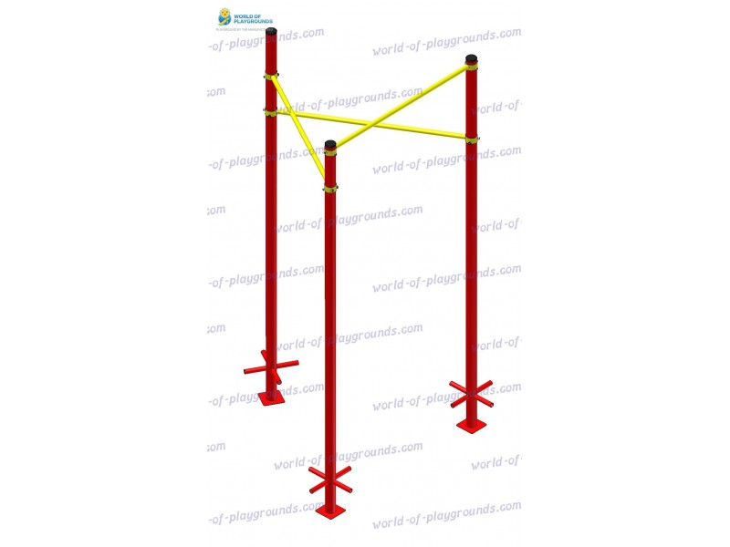 Triangular pull-up bar wp1511