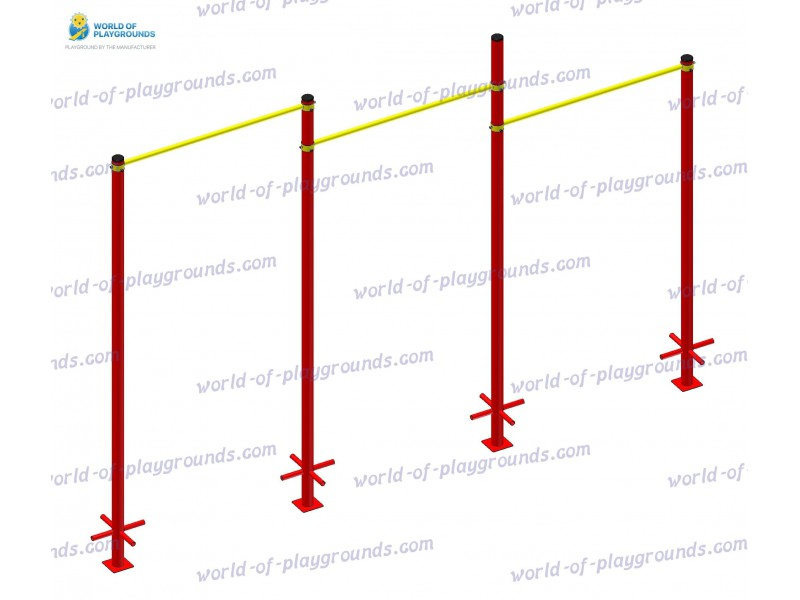 Triple pull-up bar wp1512