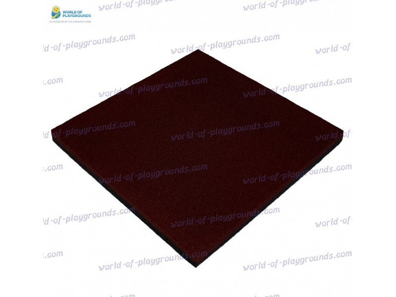 Rubber tile 45 mm wp1506
