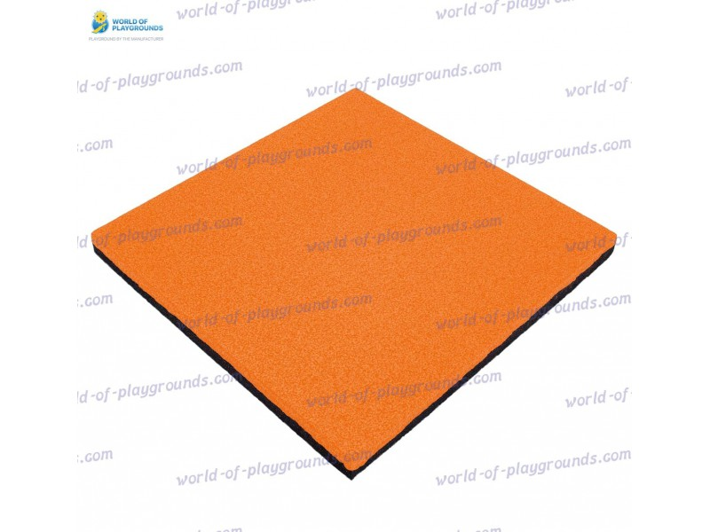 Rubber tile 50 mm wp1507