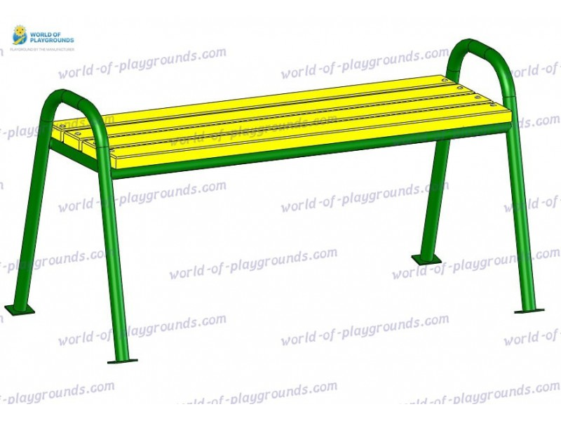 Bench without backrest wp302