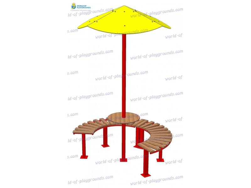 Стол с грибком wp311