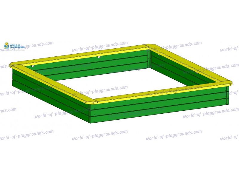 Sandbox big (wood) wp401