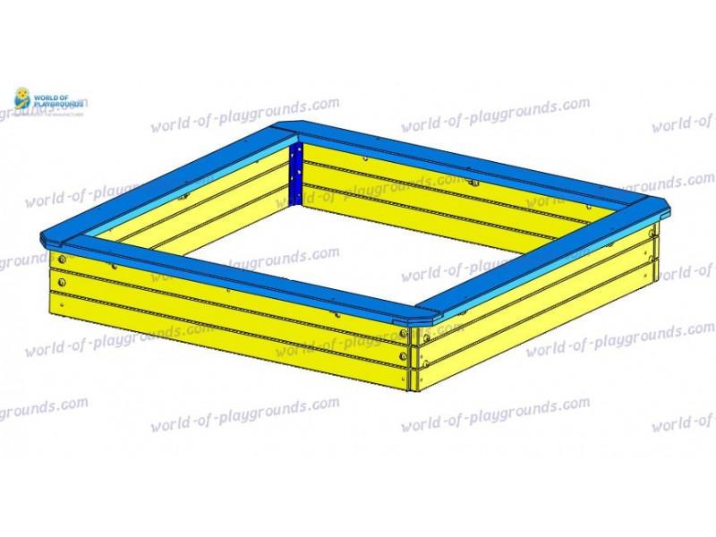 Sandbox medium (wood) wp403