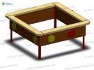 Sandbox small (plywood) wp406