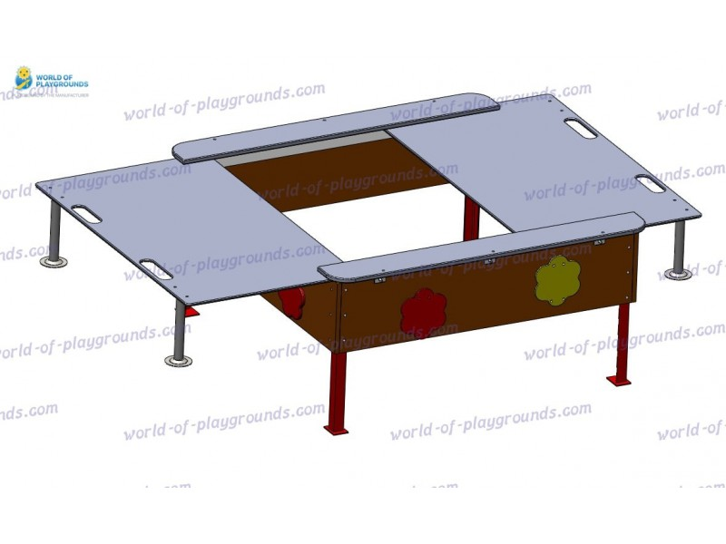 Sandbox with a lid, small (plywood) wp407