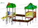 Sand yard (0,7 m slide) wp409