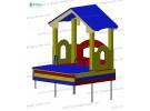House with sandbox wp415