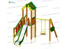 Play structure with swing (Slide 1,5 м) wp921